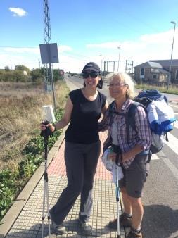 Cholena (me) and Geraldine
